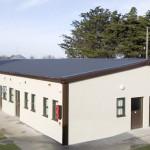A rendered permanent modular building in Balseskin