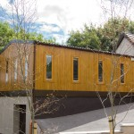 Timber cladded modular building, in Waterfall, Co. Cork