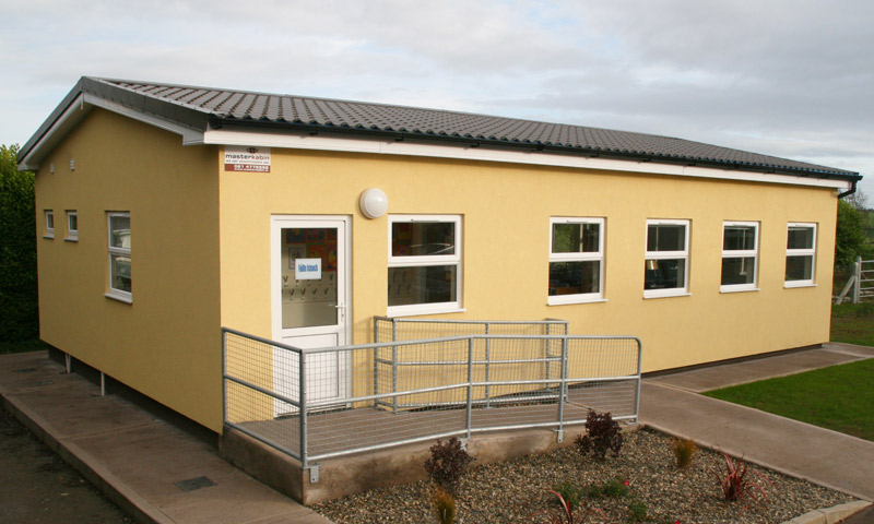 An external shot of Ballyheada National School